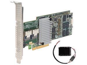 Intel RS25AB080 PCI-Express 2.0 x8 SATA / SAS RAID Controller Card