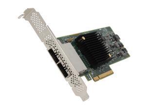 LSI LSI00300 (9207-8e) PCI-Express 3.0 x8 Low Profile SATA / SAS Host Controller Card--Avago Technologies