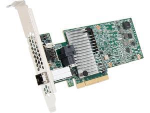 LSI 9380 MegaRAID SAS 9380-4i4e (LSI00439) PCI-Express 3.0 x8 Low Profile SAS RAID Controller Card--Avago Technologies