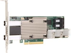LSI 9380-8I8E x8 lane PCI Express 3.0 Low Profile SATA / SAS High Port Count 12Gb/s PCI Express SATA + SAS RAID Controller