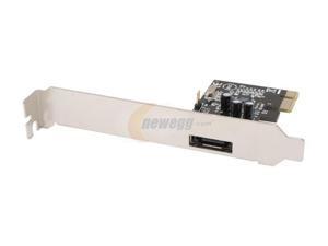 SYBA SD-SA2PEX-1E PCI Express SATA II (3.0Gb/s) Controller Card