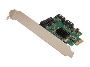 SYBA SI-PEX40057 PCI-Express 2.0 x2 Low Profile SATA III (6.0 Gb/s) 4-port RAID Card