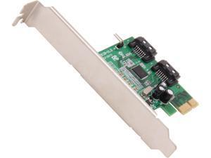 SYBA SI-PEX40061 PCI-Express 2.0 x1 Low Profile Ready SATA III (6.0Gb/s) Controller Card