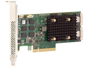 BROADCOM 05-50077-00 PCI-Express 4.0 x8 PCI-Express MegaRAID 9560-16i PCIe 4.0 RAID Controller