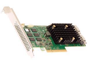 BROADCOM 05-50077-02 PCI-Express 4.0 x8 PCI-Express HBA 9500-16i Tri-Mode Storage Adapter