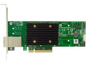 BROADCOM 05-50075-01 PCI-Express 4.0 x8 PCI-Express HBA 9500-8e Tri-Mode Storage Adapter