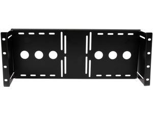 StarTech.com RKLCDBK 4U Universal VESA LCD Monitor Mounting Bracket for 19in Rack or Cabinet