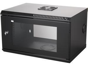 StarTech.com RK619WALL 6U 19in Wall Mount Server Rack Cabinet w/ Acrylic Door