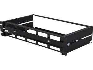StarTech.com ADJDINKIT Adjustable Rackmount DIN Rail Kit with Top Hat/Mini/G Rails