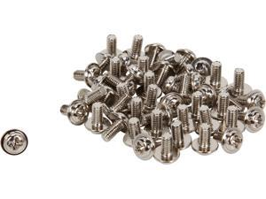 StarTech.com SCREWM3 PC Mounting Computer Screws M3 x 1/4in Long Standoff - 50 Pack