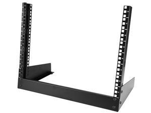 StarTech 8U Desktop Rack - 19 in. 2-Post Open Frame Rack