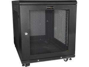 StarTech RK1233BKM StarTech.com Server Rack Cabinet - 12U - 31 in Deep Enclosure - Network Cabinet - Rack Enclosure Server Cabinet - Data Cabinet