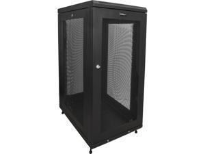 StarTech RK1833BKM StarTech.com Server Rack Cabinet - 18U - 31 in Deep Enclosure - Network Cabinet - Rack Enclosure Server Cabinet - Data Cabinet