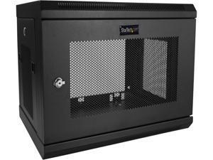 "StarTech.com RK616WALM Wall Mount Server Rack Cabinet - 6U Rack - 14.8"" Deep - Network Cabinet - Server Enclosure - Network Enclosure - 6U Case"