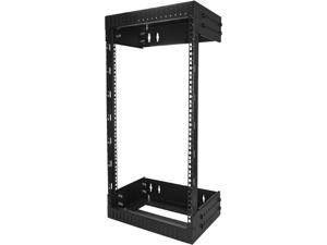 StarTech.com RK15WALLOA Wall Mount Server Rack - 15U Rack - 12- 20 in Adjustable Depth - Open Frame - Network Rack - Computer Rack - Equipment Rack
