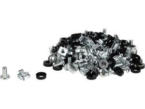 Rosewill M6 Server Cage Nuts and Mounting Screws (60-pk)