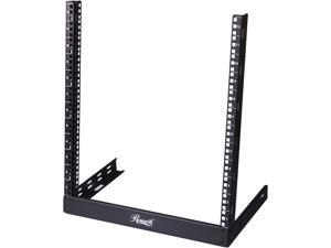 "Rosewill 12U 19"" Desktop Open Frame 2 Post Rack RSR-2P12U001"
