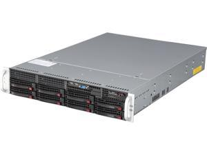 SUPERMICRO SYS-6028R-TR 2U Rackmount Server Barebone Dual Socket R3 (LGA 2011) Intel C612 DDR4 2400 / 2133 / 1866 / 1600 MHz