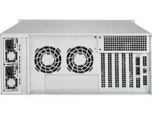 SUPERMICRO CSE-846BE1C-R1K03JBOD Black 4U Server Chassis