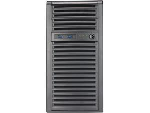 Supermicro Mid-tower Server Barebone 5039C-I with IPMP for SMB, Storage, Application, Backup, Intel C242 Chipset, Supports Intel Xeon E-2100 CPUs