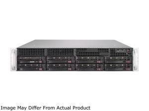Supermicro 2U Barebone, with AMD Rome 64 Cores, 7702P CPU, 740W Redundant PS