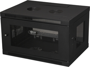 Tripp Lite 6U Wall-Mount Rack Enclosure Cabinet, Switch-Depth (SRW6U)