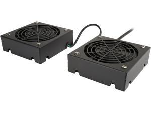 TRIPP LITE SRFANWM SMARTRACK Series Wall-Mount Roof Fan Kit, 120V (2 high-performance fans; 5-15P plug)