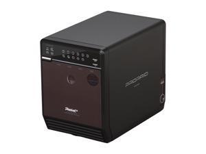 "Mediasonic HFR2-SU3S2 PRORAID Box 4 Bay Raid 3.5"" SATA Hard Drive Enclosure with USB 3.0 & eSATA"