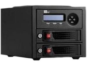 "CRU 35220-3130-0100 RAID 0, 1 2 3.5"" Drive Bays TrayFree Drive Enclosure"