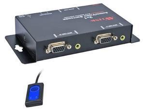 QVS MSV21A 2 X 1 250MHZ 2 PORT VGA A/V