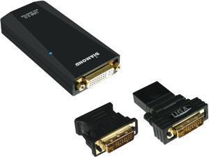 DIAMOND BVU165 USB Xtreme Sound 24bit 7.1 Channel Digital Audio Adapter - USB 2.0 - External