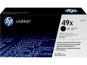 HP 49X High Yield LaserJet Toner Cartridge - Black
