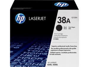 HP 38A LaserJet Toner Cartridge - Black