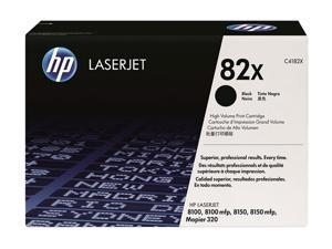 HP 82X High Yield LaserJet Toner Cartridge - Black
