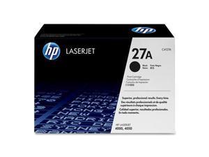 HP 27A Black LaserJet Toner Cartridge (C4127A)