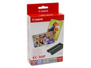 Canon KC-36IP Ink Cartridge - Combo Pack - Color/Paper