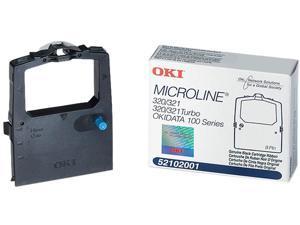 Oki Data 52102001 Ribbon for MICROLINE 186, 320 Turbo - Black