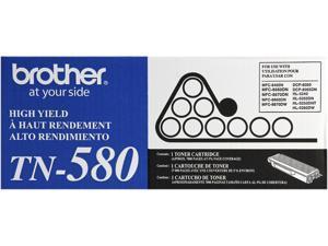 Brother TN580 High Yield Toner Cartridge - Black