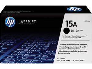 HP 15A LaserJet Toner Cartridge - Black