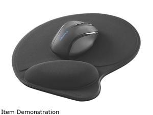 Kensington L57822us Wrist Pillow Mouse Pad, Black