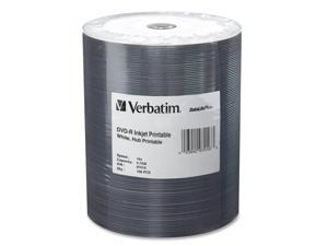 Verbatim 4.7GB 16X DVD-R Inkjet Printable 100 Packs Media Model 97016