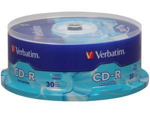 Verbatim 700MB 52X CD-R 30 Packs Disc Model 95152