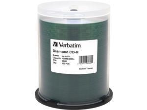 Verbatim CD Recordable Media - CD-R - 52x - 700 MB - 100 Pack