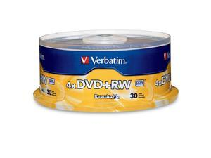 Verbatim 4.7GB 4X DVD+RW 30 Packs Disc Model 94834