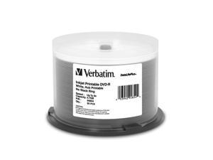 Verbatim 4.7GB 8X DVD-R 50 Packs Disc Model 94854