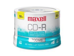 maxell 700MB 48X CD-R 50 Packs Disc Model 648250