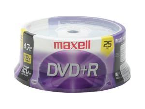 maxell 4.7GB 16X DVD+R 25 Packs Disc Model 634050