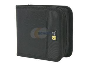 Case Logic CDW-32 CD WALLET NYLON BLACK HOLD UP TO 32 CDS