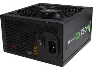 Corsair Certified Refurbished CX750M (CP-9020061-NA) CX-M Series 750W 80 Plus Bronze Active PFC Modular Power Supply