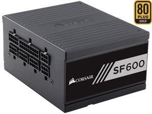CORSAIR SF Series SF600 600W 80 PLUS GOLD Active PFC Haswell Ready SFX SFX12V Micro ATX Full Modular Power Supply